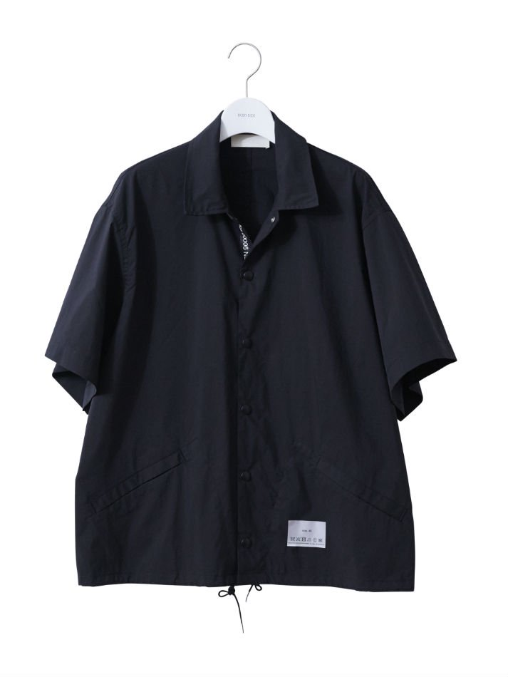 NEON SIGN<br />NEONSIGN INDUSTRIAL COLLECTION COACH SHIRT BLK <img class='new_mark_img2' src='//img.shop-pro.jp/img/new/icons14.gif' style='border:none;display:inline;margin:0px;padding:0px;width:auto;' />