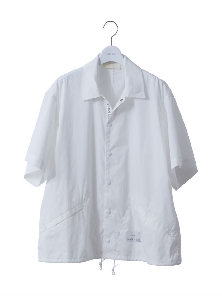 NEON SIGN<br />NEONSIGN INDUSTRIAL COLLECTION COACH SHIRT WHT <img class='new_mark_img2' src='//img.shop-pro.jp/img/new/icons47.gif' style='border:none;display:inline;margin:0px;padding:0px;width:auto;' />