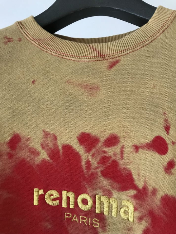 JieDa×renoma<br />BLEACH SWEAT SHIRT RED <img class='new_mark_img2' src='//img.shop-pro.jp/img/new/icons47.gif' style='border:none;display:inline;margin:0px;padding:0px;width:auto;' />