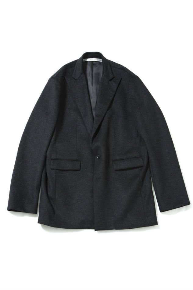 soe<br />2B Wool Jacket GRAY<img class='new_mark_img2' src='//img.shop-pro.jp/img/new/icons14.gif' style='border:none;display:inline;margin:0px;padding:0px;width:auto;' />