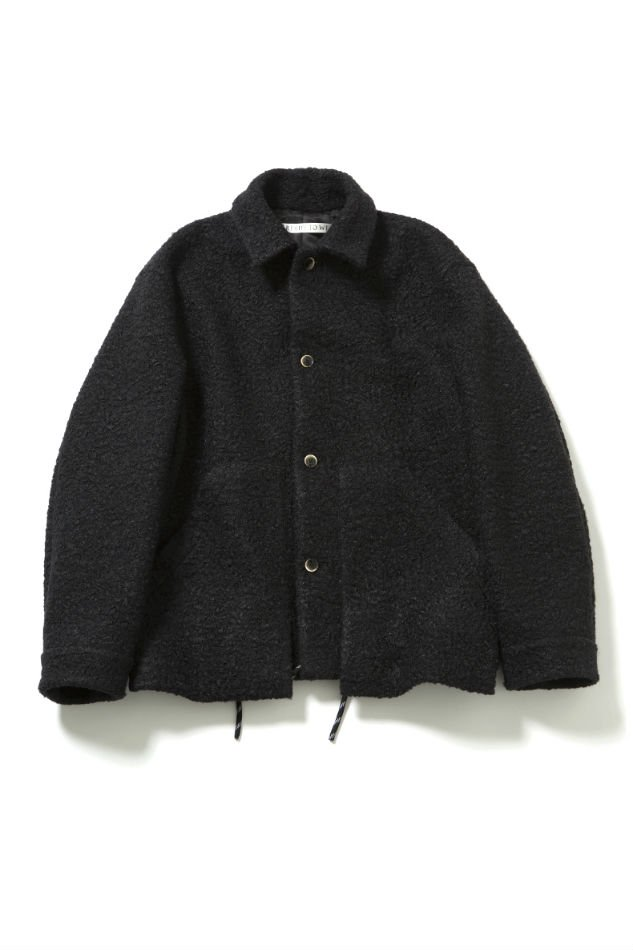 soe<br />Poodle Jacket with Parachute Cord BLACK<img class='new_mark_img2' src='//img.shop-pro.jp/img/new/icons47.gif' style='border:none;display:inline;margin:0px;padding:0px;width:auto;' />