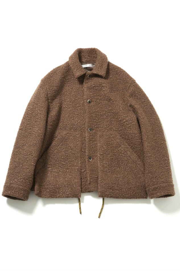 soe<br />Poodle Jacket with Parachute Cord BROWN<img class='new_mark_img2' src='//img.shop-pro.jp/img/new/icons14.gif' style='border:none;display:inline;margin:0px;padding:0px;width:auto;' />