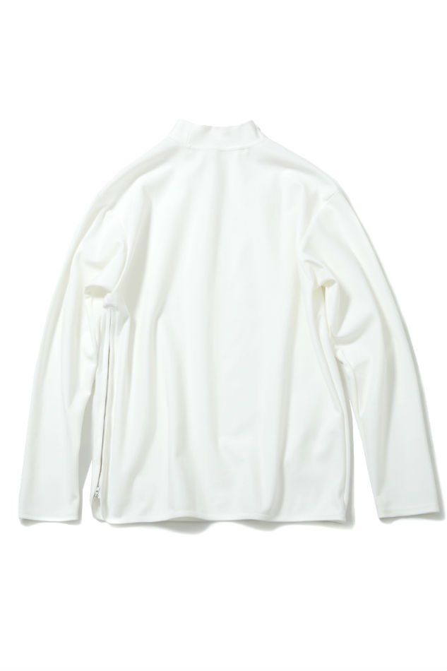 soe<br />Side Zip L/S Mock-Neck T WHITE<img class='new_mark_img2' src='//img.shop-pro.jp/img/new/icons14.gif' style='border:none;display:inline;margin:0px;padding:0px;width:auto;' />