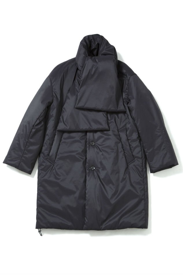 soe<br />Primaloft Muffler Coat BLACK<img class='new_mark_img2' src='//img.shop-pro.jp/img/new/icons14.gif' style='border:none;display:inline;margin:0px;padding:0px;width:auto;' />