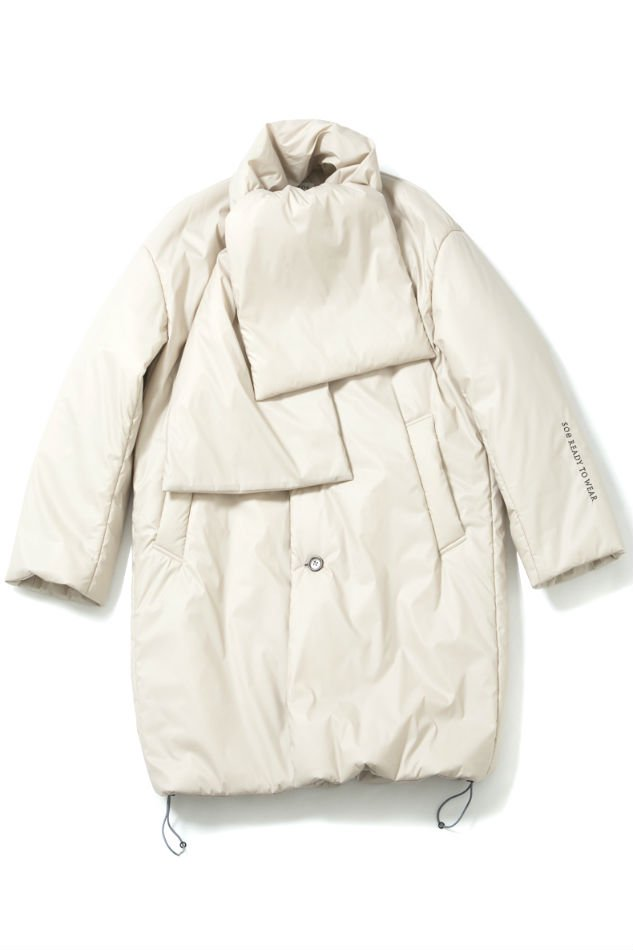 soe<br />Primaloft Muffler Coat BEIGE<img class='new_mark_img2' src='//img.shop-pro.jp/img/new/icons14.gif' style='border:none;display:inline;margin:0px;padding:0px;width:auto;' />