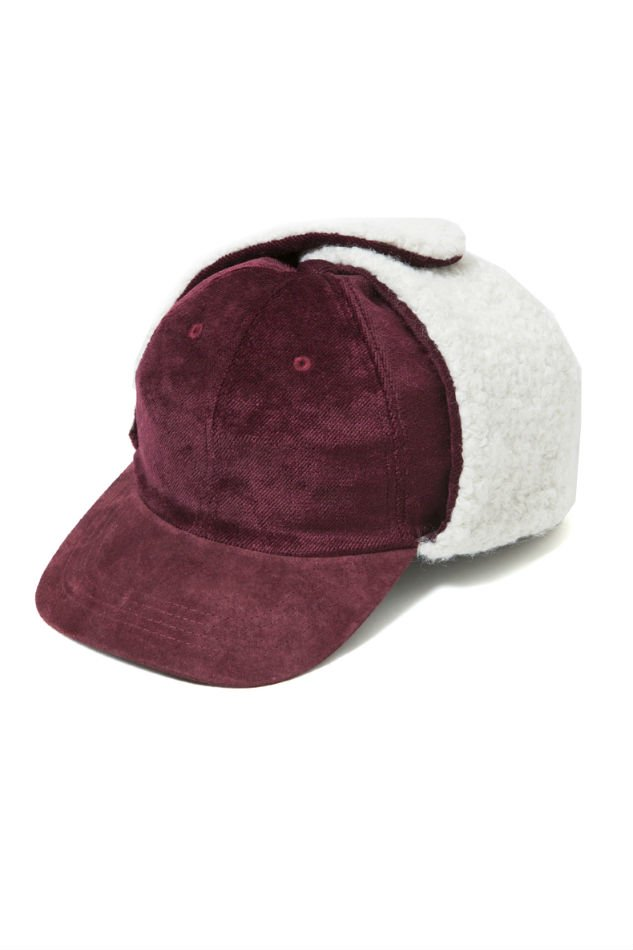 soe<br />Ear Warm Velvet Cap BURGUNDY<img class='new_mark_img2' src='//img.shop-pro.jp/img/new/icons47.gif' style='border:none;display:inline;margin:0px;padding:0px;width:auto;' />