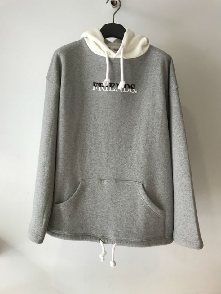 kudos<br />FRIENDS HOODIE GRAY<img class='new_mark_img2' src='//img.shop-pro.jp/img/new/icons14.gif' style='border:none;display:inline;margin:0px;padding:0px;width:auto;' />