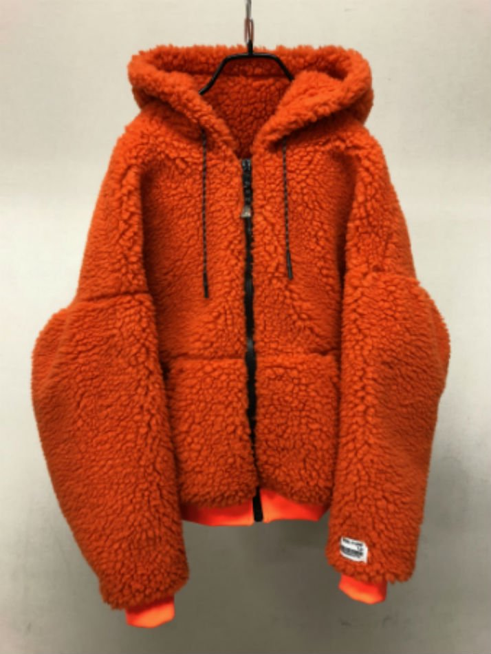 R.M GANG<br />BORE ZIP PARKA ORANGE<img class='new_mark_img2' src='//img.shop-pro.jp/img/new/icons47.gif' style='border:none;display:inline;margin:0px;padding:0px;width:auto;' />