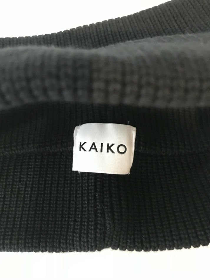 KAIKO<br />KNIT HAIR BAND BLACK<img class='new_mark_img2' src='//img.shop-pro.jp/img/new/icons47.gif' style='border:none;display:inline;margin:0px;padding:0px;width:auto;' />