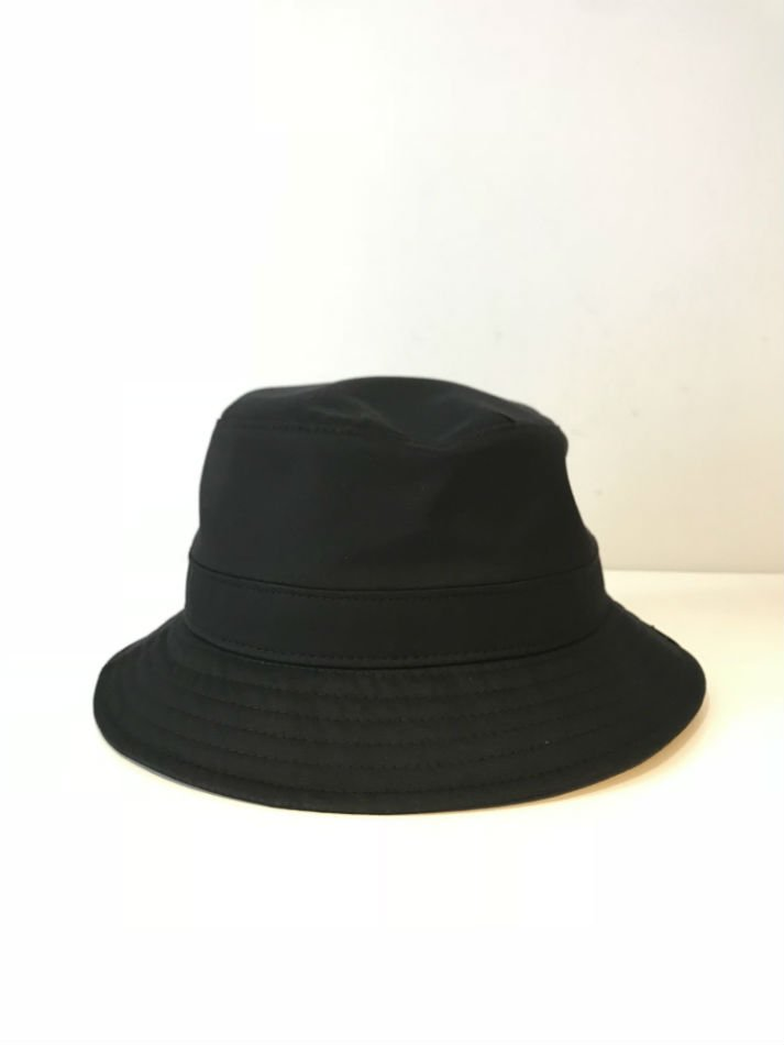 KAIKO<br />TRENCH BUCKET HAT BLACK<img class='new_mark_img2' src='//img.shop-pro.jp/img/new/icons47.gif' style='border:none;display:inline;margin:0px;padding:0px;width:auto;' />