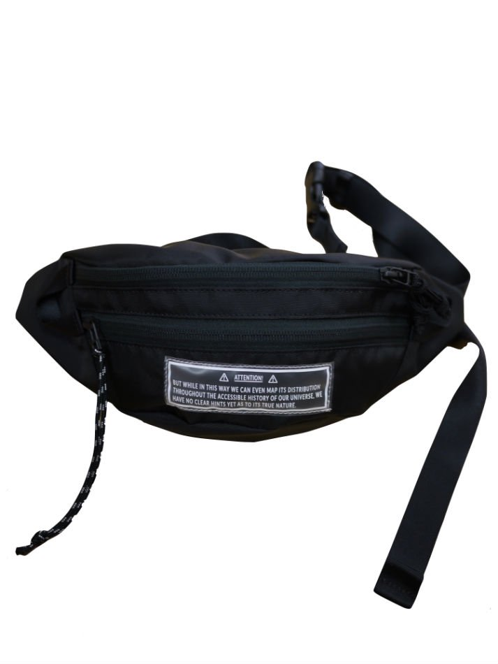 JieDa<br />WAIST BAG BLACK<img class='new_mark_img2' src='//img.shop-pro.jp/img/new/icons47.gif' style='border:none;display:inline;margin:0px;padding:0px;width:auto;' />