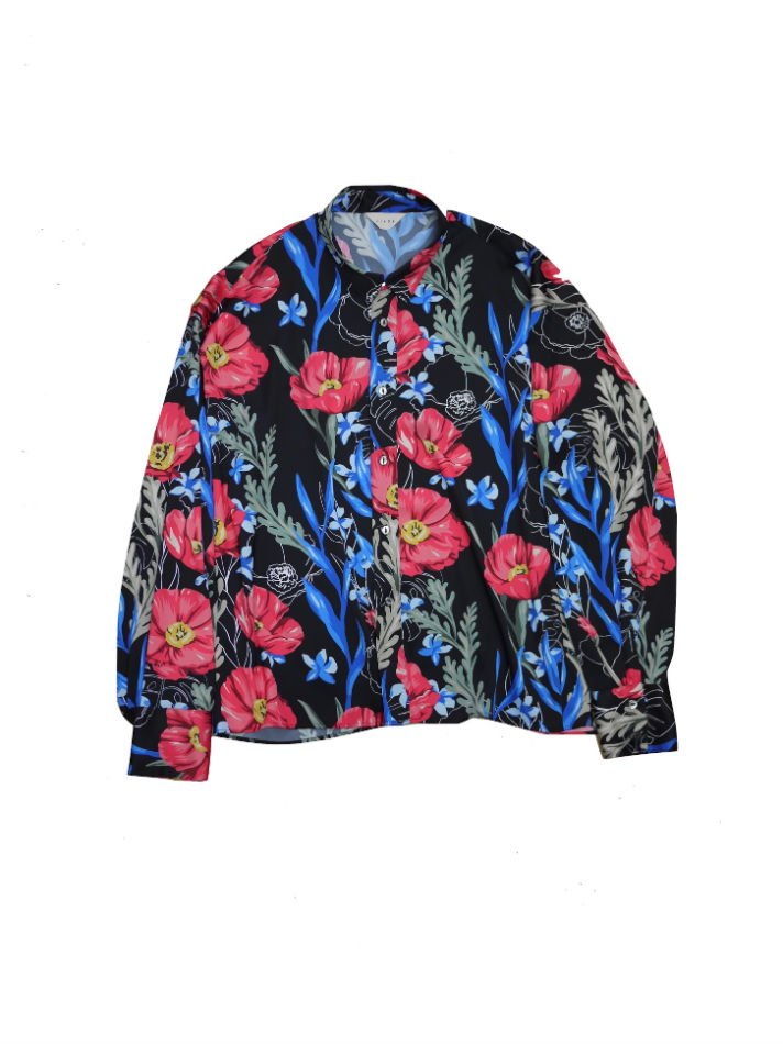 JieDa<br />FLOWER PATTERN L/S SHIRT BLACK<img class='new_mark_img2' src='//img.shop-pro.jp/img/new/icons14.gif' style='border:none;display:inline;margin:0px;padding:0px;width:auto;' />