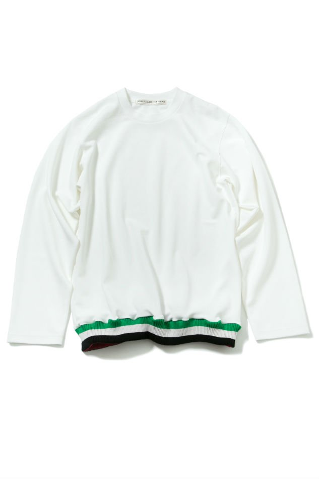soe<br />Cr ew Neck L/S Shirt WHITE<img class='new_mark_img2' src='//img.shop-pro.jp/img/new/icons47.gif' style='border:none;display:inline;margin:0px;padding:0px;width:auto;' />