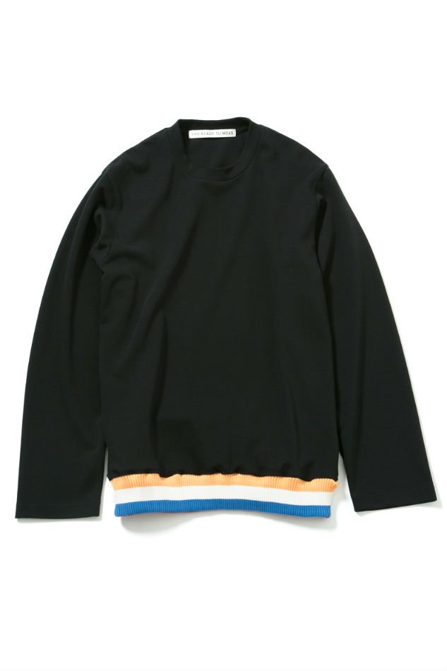 soe<br />Cr ew Neck L/S Shirt BLACK<img class='new_mark_img2' src='//img.shop-pro.jp/img/new/icons14.gif' style='border:none;display:inline;margin:0px;padding:0px;width:auto;' />