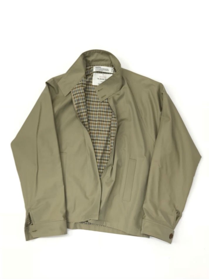 DAIRIKU<br />Water-Repellent Drizzler Jacket BEIGE <img class='new_mark_img2' src='//img.shop-pro.jp/img/new/icons47.gif' style='border:none;display:inline;margin:0px;padding:0px;width:auto;' />
