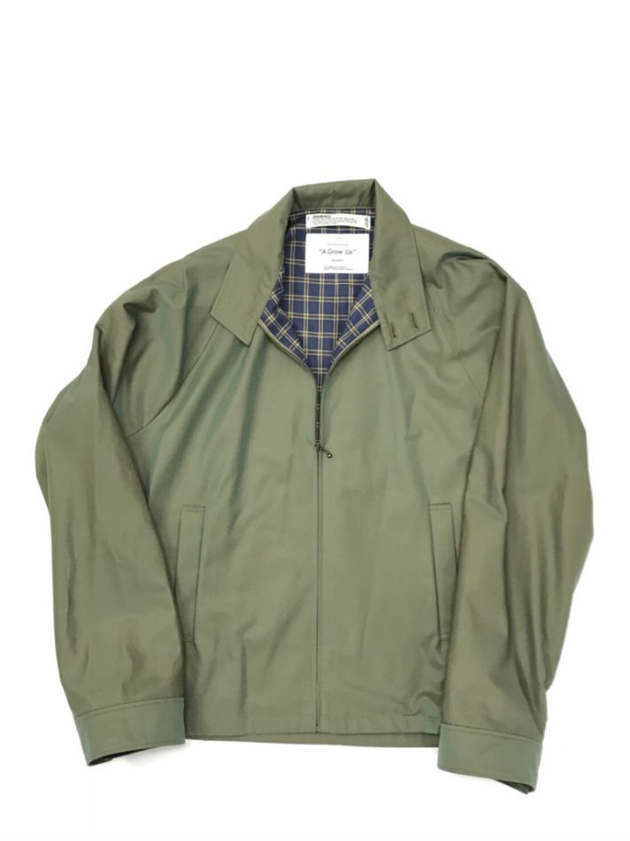 DAIRIKU<br />Water-Repellent Drizzler Jacket KHAKI <img class='new_mark_img2' src='//img.shop-pro.jp/img/new/icons47.gif' style='border:none;display:inline;margin:0px;padding:0px;width:auto;' />