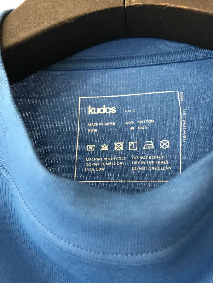 kudos<br />KK T-SHIRT BLUE<img class='new_mark_img2' src='//img.shop-pro.jp/img/new/icons47.gif' style='border:none;display:inline;margin:0px;padding:0px;width:auto;' />