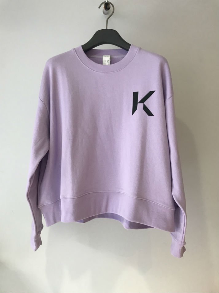 KAIKO<br />OBLONG SWEAT MARK L.PURPLE<img class='new_mark_img2' src='//img.shop-pro.jp/img/new/icons14.gif' style='border:none;display:inline;margin:0px;padding:0px;width:auto;' />