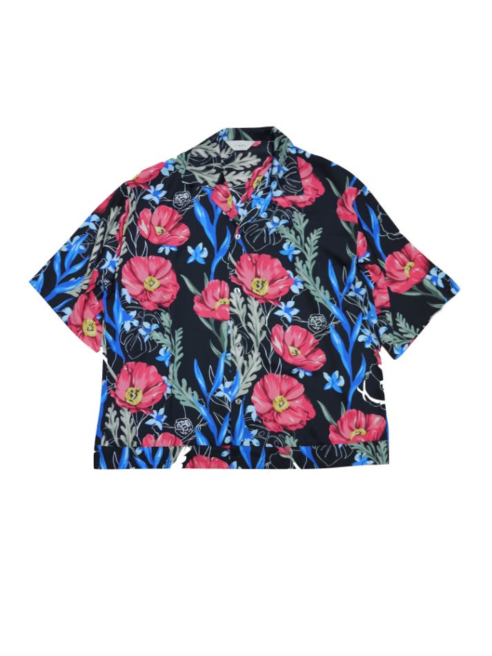 JieDa<br />FLOWER PATTERN S/S SHIRT BLACK<img class='new_mark_img2' src='//img.shop-pro.jp/img/new/icons14.gif' style='border:none;display:inline;margin:0px;padding:0px;width:auto;' />
