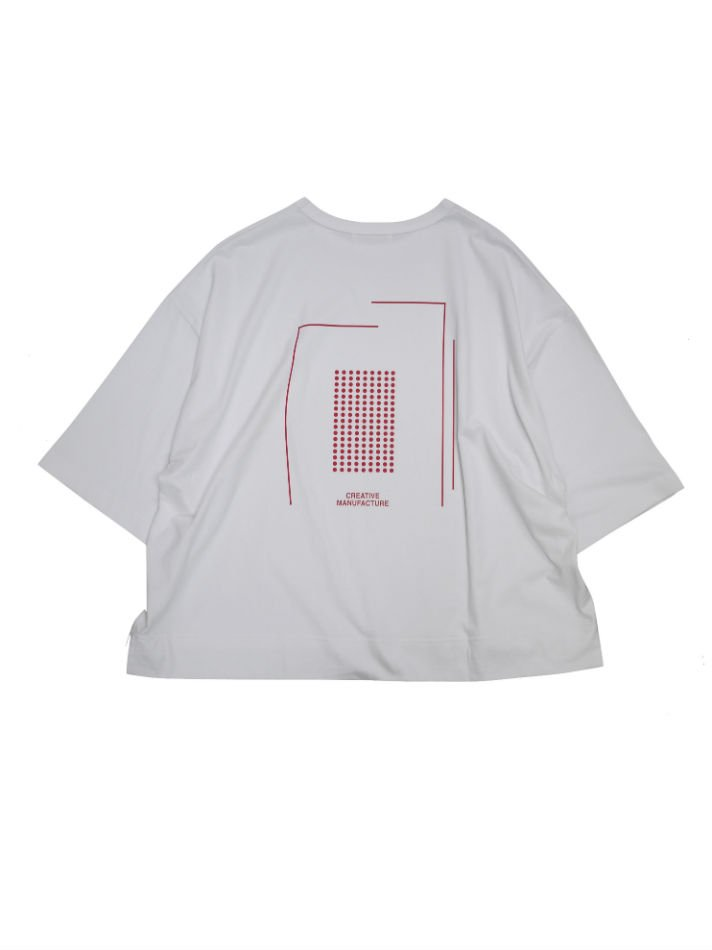 JieDa<br />CREATIVE MANUFACTURE GRAPHIC T-SHIRT WHT<img class='new_mark_img2' src='//img.shop-pro.jp/img/new/icons47.gif' style='border:none;display:inline;margin:0px;padding:0px;width:auto;' />
