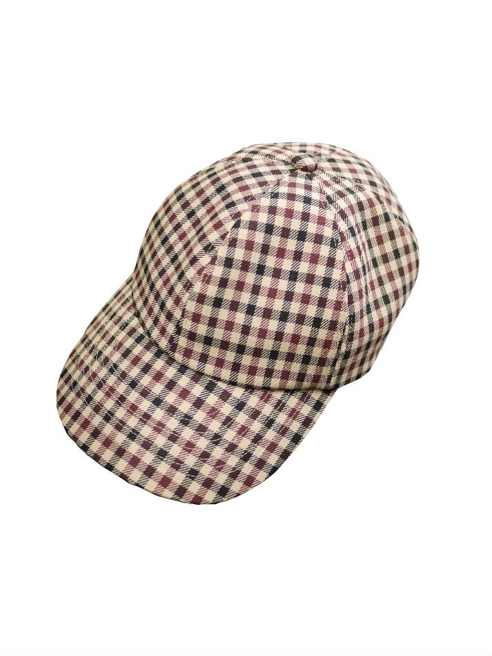 JieDa<br />GINGHAM CAP BEIGE<img class='new_mark_img2' src='//img.shop-pro.jp/img/new/icons47.gif' style='border:none;display:inline;margin:0px;padding:0px;width:auto;' />