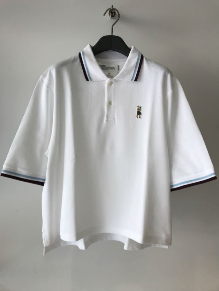 DAIRIKU<br />Night life Polo Shirt WHITE<img class='new_mark_img2' src='//img.shop-pro.jp/img/new/icons14.gif' style='border:none;display:inline;margin:0px;padding:0px;width:auto;' />