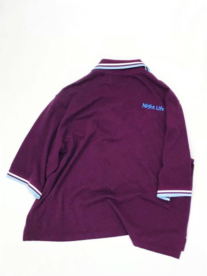 DAIRIKU<br />Night life Polo Shirt BORDEAUX<img class='new_mark_img2' src='//img.shop-pro.jp/img/new/icons47.gif' style='border:none;display:inline;margin:0px;padding:0px;width:auto;' />