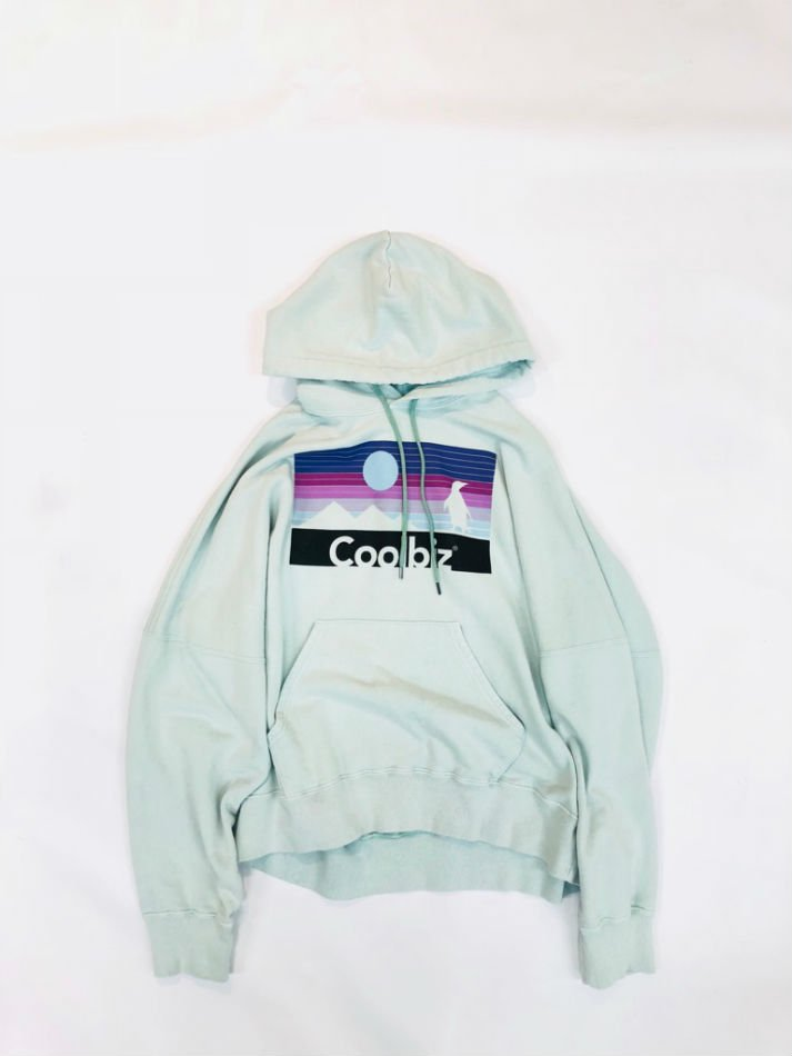 DAIRIKU<br />Coolbiz Vintage Wash Hoodie MINT GREEN<img class='new_mark_img2' src='//img.shop-pro.jp/img/new/icons14.gif' style='border:none;display:inline;margin:0px;padding:0px;width:auto;' />