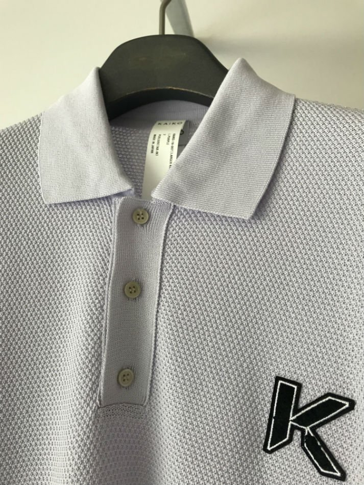 KAIKO<br />LARGER POLO SHIRT L.PURPLE<img class='new_mark_img2' src='//img.shop-pro.jp/img/new/icons14.gif' style='border:none;display:inline;margin:0px;padding:0px;width:auto;' />