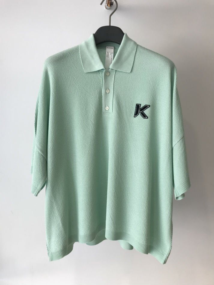 KAIKO<br />[50%off] LARGER POLO SHIRT L.GREEN<img class='new_mark_img2' src='https://img.shop-pro.jp/img/new/icons20.gif' style='border:none;display:inline;margin:0px;padding:0px;width:auto;' />
