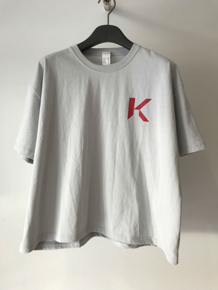 KAIKO<br />OBLONG T-SHIRT MARK L.GRAY<img class='new_mark_img2' src='//img.shop-pro.jp/img/new/icons47.gif' style='border:none;display:inline;margin:0px;padding:0px;width:auto;' />