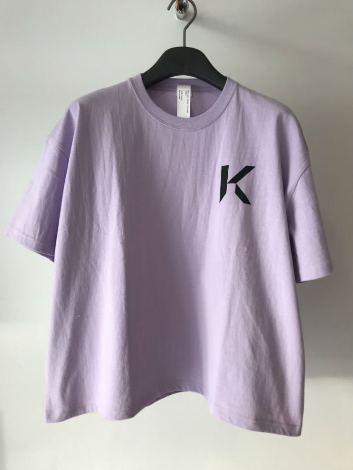 KAIKO<br />OBLONG T-SHIRT MARK L.PURPLE<img class='new_mark_img2' src='//img.shop-pro.jp/img/new/icons47.gif' style='border:none;display:inline;margin:0px;padding:0px;width:auto;' />