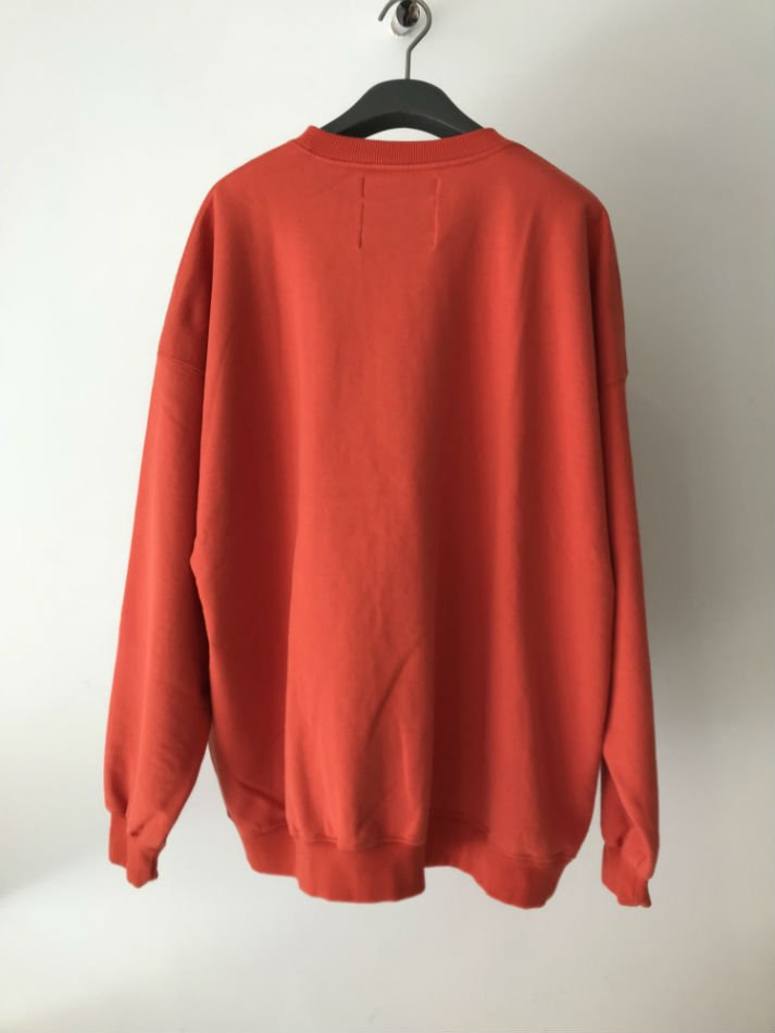 DAIRIKU<br />END ROLL Vintage Wash Sweater Orange<img class='new_mark_img2' src='//img.shop-pro.jp/img/new/icons47.gif' style='border:none;display:inline;margin:0px;padding:0px;width:auto;' />