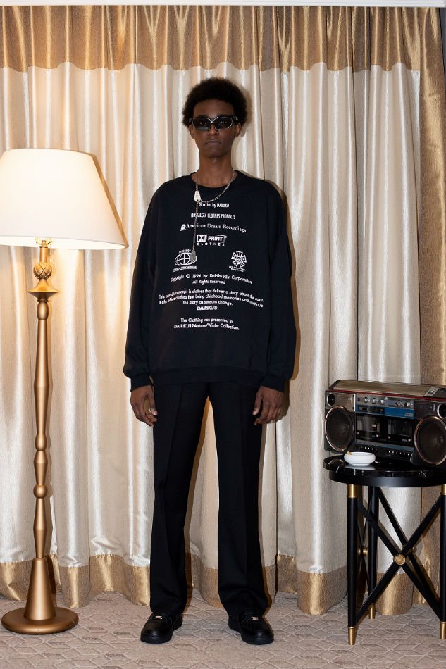 DAIRIKU<br />Flasher Pressed Pants Black<img class='new_mark_img2' src='//img.shop-pro.jp/img/new/icons47.gif' style='border:none;display:inline;margin:0px;padding:0px;width:auto;' />