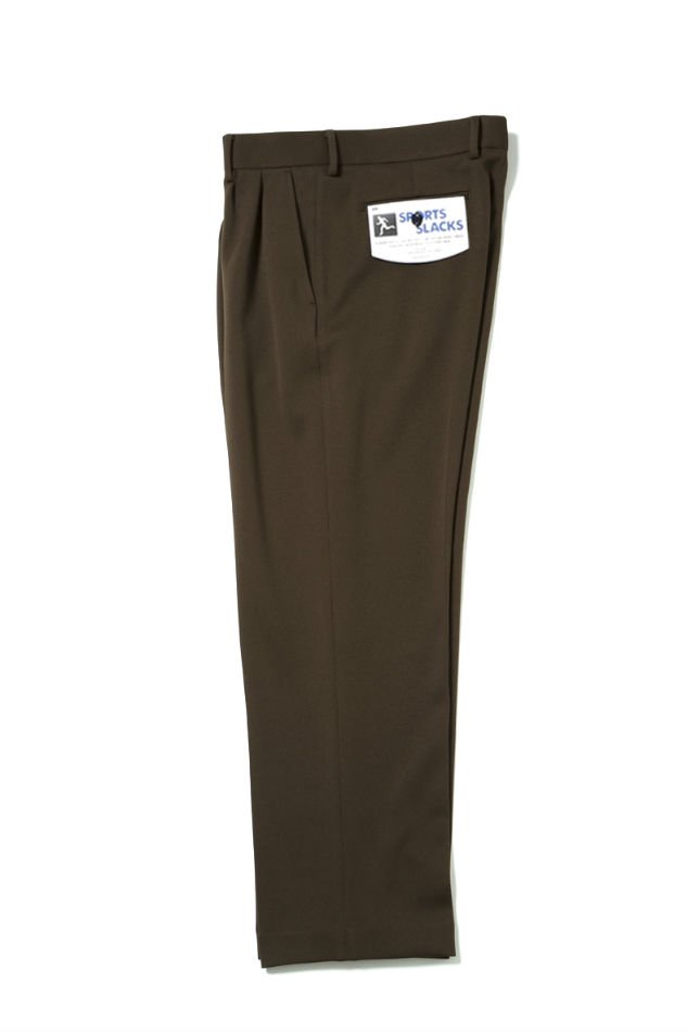 soe<br />Basic Sport Slacks BROWN<img class='new_mark_img2' src='//img.shop-pro.jp/img/new/icons47.gif' style='border:none;display:inline;margin:0px;padding:0px;width:auto;' />