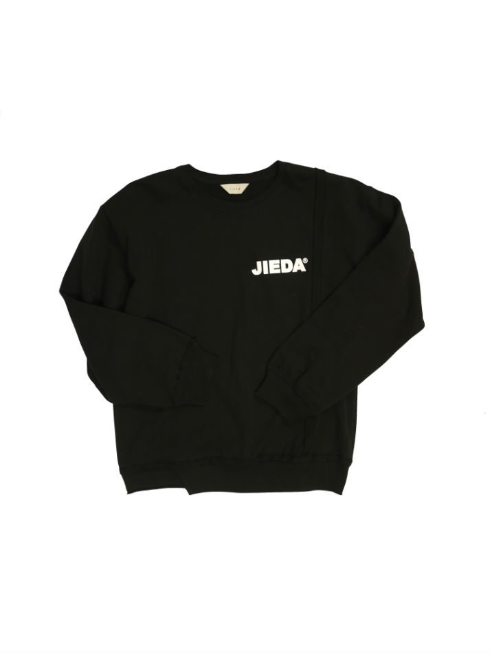JieDa<br />JieDa LOGO SWITCHING SWEAT SHIRT BLACK<img class='new_mark_img2' src='//img.shop-pro.jp/img/new/icons47.gif' style='border:none;display:inline;margin:0px;padding:0px;width:auto;' />