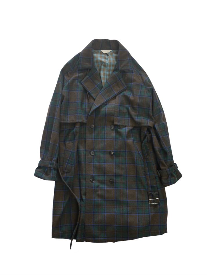JieDa<br />PLAID TRENCH COAT<img class='new_mark_img2' src='//img.shop-pro.jp/img/new/icons14.gif' style='border:none;display:inline;margin:0px;padding:0px;width:auto;' />