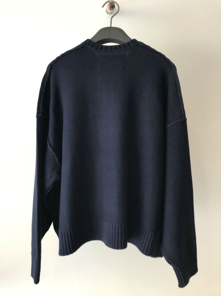 DAIRIKU<br />Inside Out America Knit Navy<img class='new_mark_img2' src='//img.shop-pro.jp/img/new/icons47.gif' style='border:none;display:inline;margin:0px;padding:0px;width:auto;' />