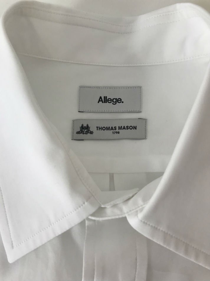 ALLEGE<br />Standard Shirt WHITE<img class='new_mark_img2' src='//img.shop-pro.jp/img/new/icons47.gif' style='border:none;display:inline;margin:0px;padding:0px;width:auto;' />