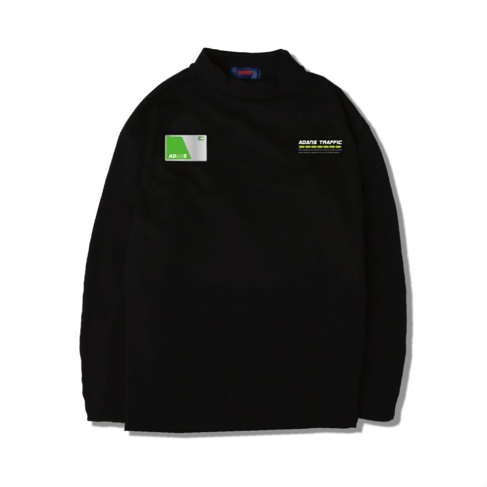 ADANS<br />IC CARD L/S TEE BLACK<img class='new_mark_img2' src='//img.shop-pro.jp/img/new/icons14.gif' style='border:none;display:inline;margin:0px;padding:0px;width:auto;' />