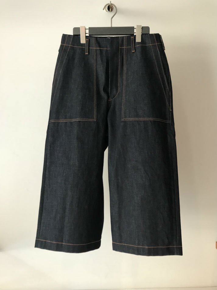KHOKI<br />Wide denim pants<img class='new_mark_img2' src='//img.shop-pro.jp/img/new/icons14.gif' style='border:none;display:inline;margin:0px;padding:0px;width:auto;' />