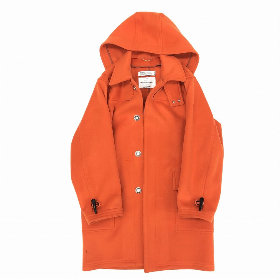 DAIRIKU<br />Snap Button Duffle Coat Orange<img class='new_mark_img2' src='//img.shop-pro.jp/img/new/icons14.gif' style='border:none;display:inline;margin:0px;padding:0px;width:auto;' />