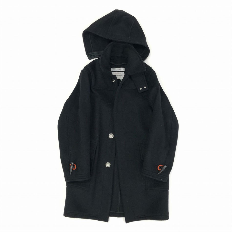 DAIRIKU<br />Snap Button Duffle Coat Black<img class='new_mark_img2' src='//img.shop-pro.jp/img/new/icons14.gif' style='border:none;display:inline;margin:0px;padding:0px;width:auto;' />