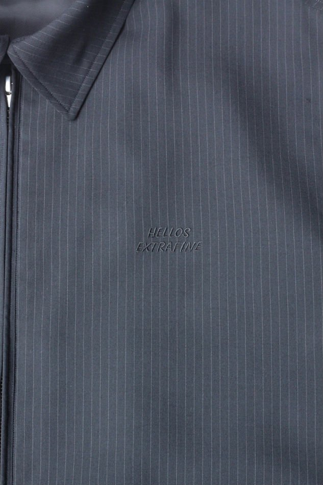 HELLOS EXTRAFINE<br />2 in stripe wool jacket<img class='new_mark_img2' src='//img.shop-pro.jp/img/new/icons14.gif' style='border:none;display:inline;margin:0px;padding:0px;width:auto;' />