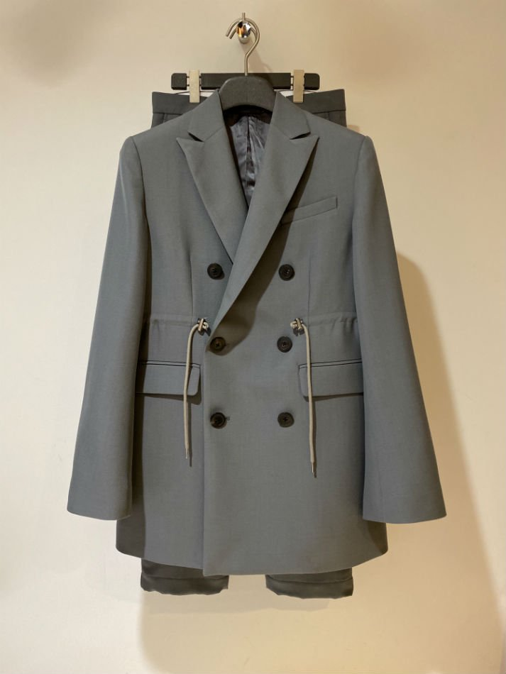 ALLEGE<br />W Peaked Lapel Jacket&Side Pocket Pants SET GRAY<img class='new_mark_img2' src='//img.shop-pro.jp/img/new/icons14.gif' style='border:none;display:inline;margin:0px;padding:0px;width:auto;' />