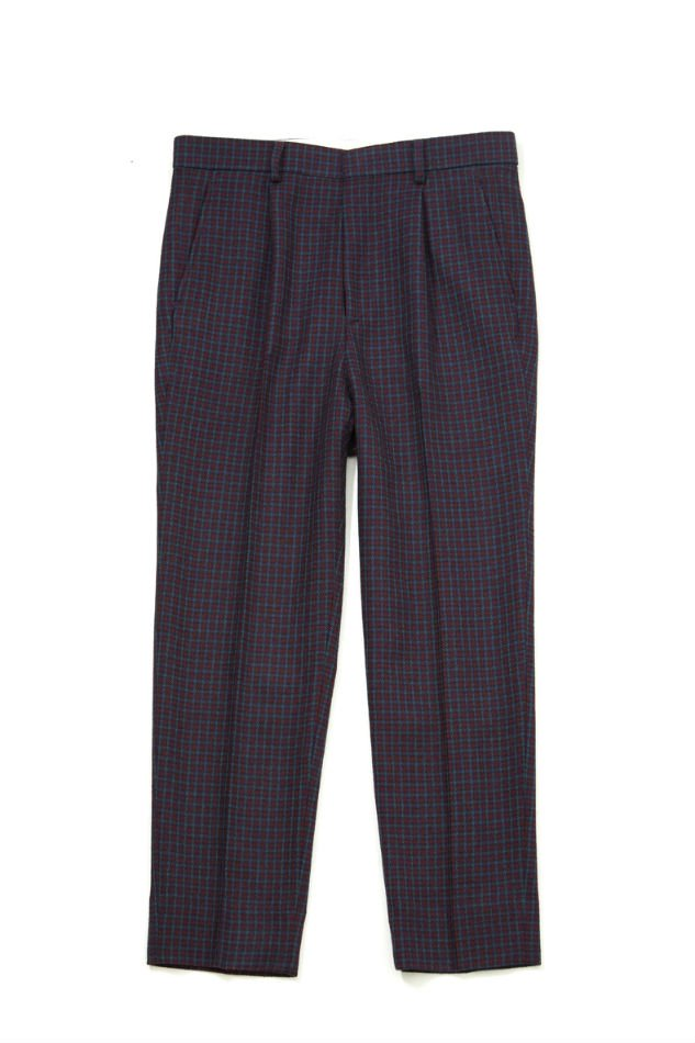 soe<br />Houndstooth Dressed Pants PURPLE/GREEN<img class='new_mark_img2' src='//img.shop-pro.jp/img/new/icons14.gif' style='border:none;display:inline;margin:0px;padding:0px;width:auto;' />
