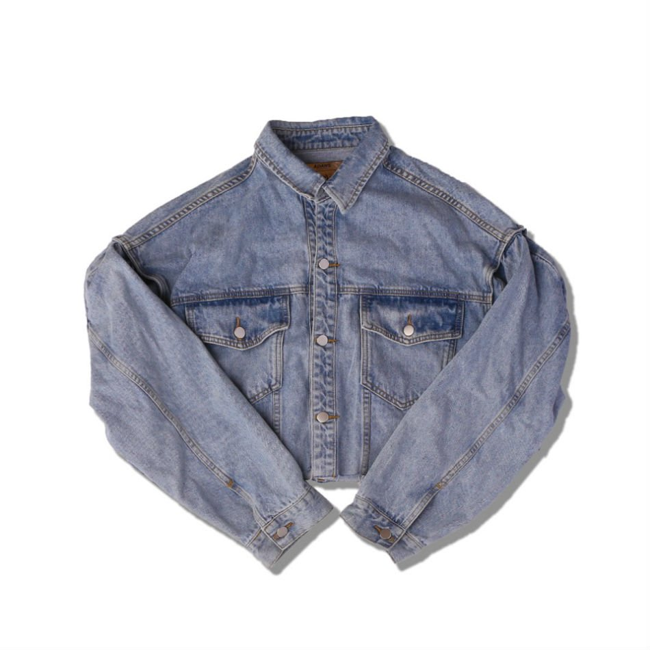 ADANS<br />SHORT DENIM JACKET<img class='new_mark_img2' src='//img.shop-pro.jp/img/new/icons14.gif' style='border:none;display:inline;margin:0px;padding:0px;width:auto;' />