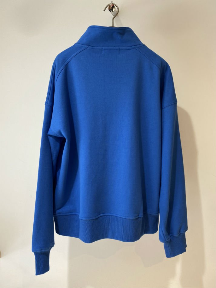 ADANS<br />MOCK NECK SWEAT PULLOVER BLUE<img class='new_mark_img2' src='//img.shop-pro.jp/img/new/icons14.gif' style='border:none;display:inline;margin:0px;padding:0px;width:auto;' />