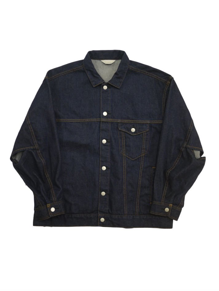 JieDa<br />DENIM JACKET INDIGO<img class='new_mark_img2' src='//img.shop-pro.jp/img/new/icons47.gif' style='border:none;display:inline;margin:0px;padding:0px;width:auto;' />