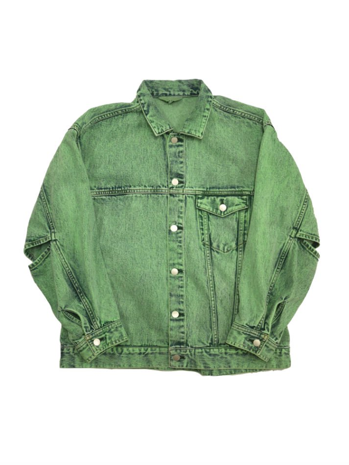 JieDa<br />DENIM JACKET CHEMICAL MINT<img class='new_mark_img2' src='//img.shop-pro.jp/img/new/icons14.gif' style='border:none;display:inline;margin:0px;padding:0px;width:auto;' />
